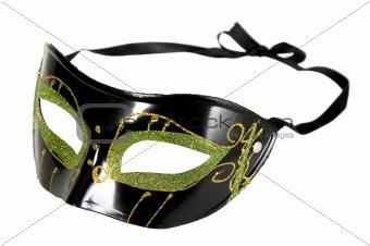 Green black mask