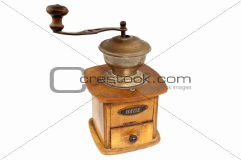 Antigue coffee mill