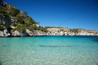 clear water of Macarelleta beach