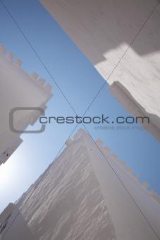 crossroads roof view
