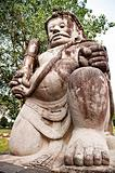 Prambanan Temple Statue