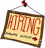 Hiring Sign