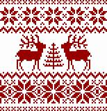 Christmas norwegian pattern