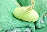 Soap  light-green