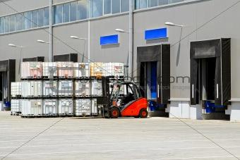 Forklift transportation