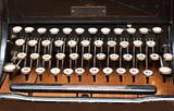 Vintage printing machine