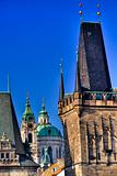 Prague towers