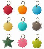 Key Chain Tag Vector
