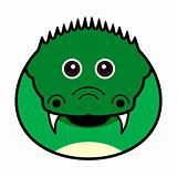 Cute Crocodile Vector
