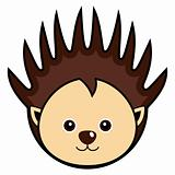 Cute Porcupine Vector