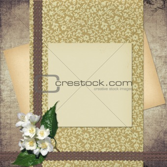 Card for congratulation or invitation