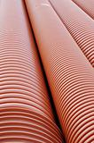 Plumbing tubes close-up