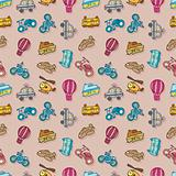 seamless transport pattern,vector illustration