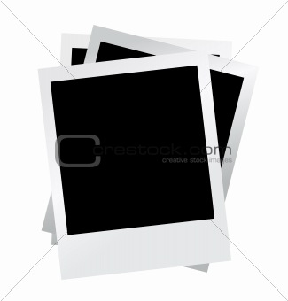 blank photo vector illustration