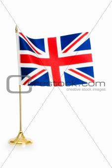 United Kingdom isolated on white