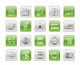 Hotel and Motel objects icons