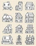 cute house draw
