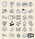 hand draw weather