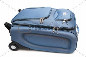 modern large suitcase