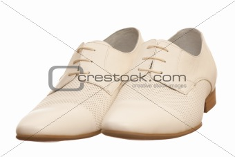 Pair of fashion men shoes