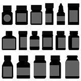 Medicine Storage Container Bottle