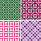 Plaid pattern set