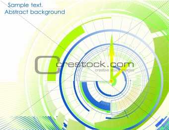 Abstract arrow colorful background. Vector
