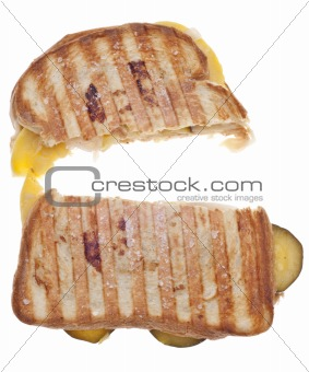 Sliced Vegetable Sandwich