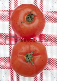 Pair of Fresh Tomatoes