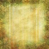 Grunge yellow - green background