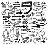 doodle arrow set