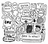 cute speech doodle