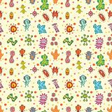 seamless virus pattern