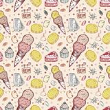 seamless cookie pattern