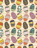 seamless Eggs pattern