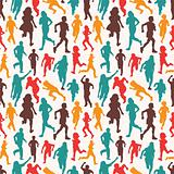 seamless people pattern