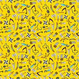 seamless weapon pattern