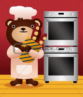 bear and bread
