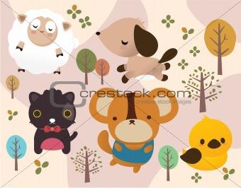 animal in park