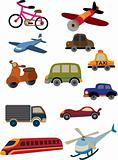 cartoon transportation icon