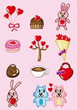 cartoon Valentine icon