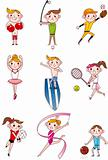 cartoon sport