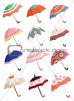 cartoon Umbrellas icon
