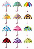 cartoon Umbrellas icon