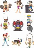 cartoon Gym icon