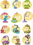 cartoon Lamps icon