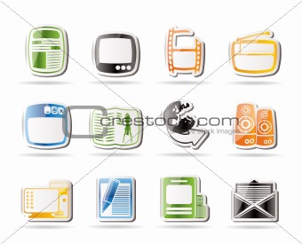 Simple Media icons