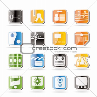 Simple Business and Internet Icons