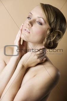 beauty retro portrait