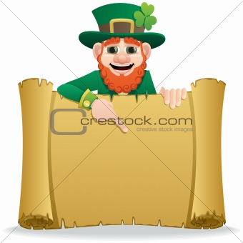 Leprechaun Scroll 2